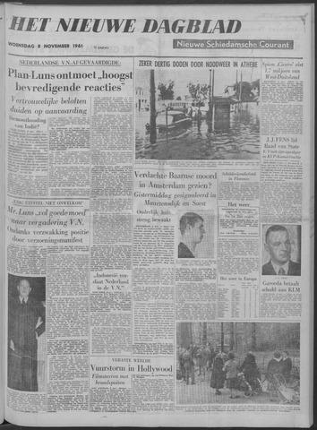 Nieuwe Schiedamsche Courant 1961-11-08
