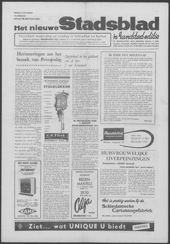 Het Nieuwe Stadsblad 1963-09-13