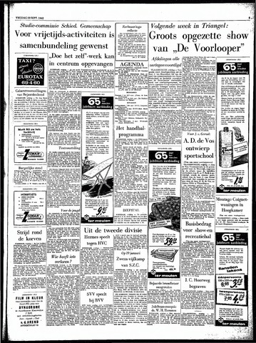 Rotterdamsch Parool / De Schiedammer 1962-09-28