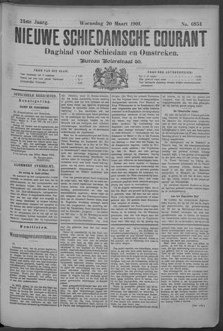 Nieuwe Schiedamsche Courant 1901-03-20