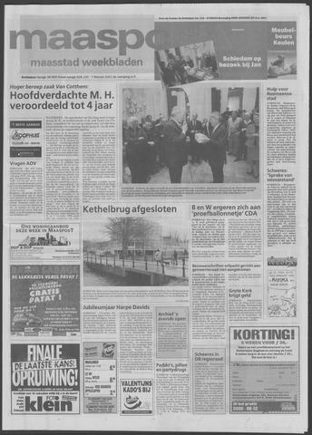 Maaspost / Maasstad / Maasstad Pers 2001-02-07