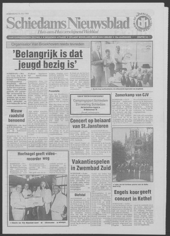 Schiedams Nieuwsblad 1985-07-10