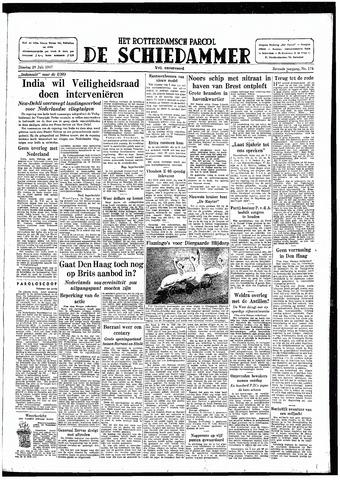Rotterdamsch Parool / De Schiedammer 1947-07-29