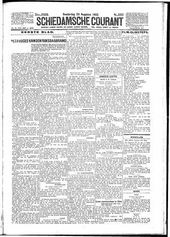 Schiedamsche Courant 1933-08-24