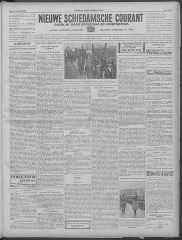 Nieuwe Schiedamsche Courant 1933-11-28