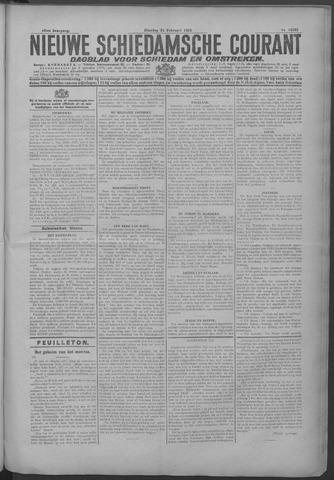Nieuwe Schiedamsche Courant 1925-02-24