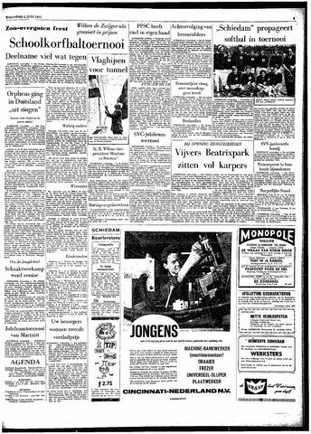 Rotterdamsch Parool / De Schiedammer 1963-06-05