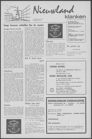 Nieuwland Klanken 1970-02-11