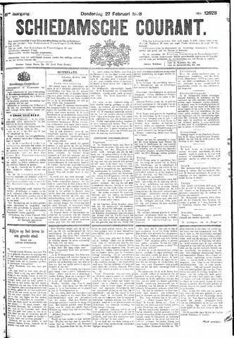 Schiedamsche Courant 1908-02-27