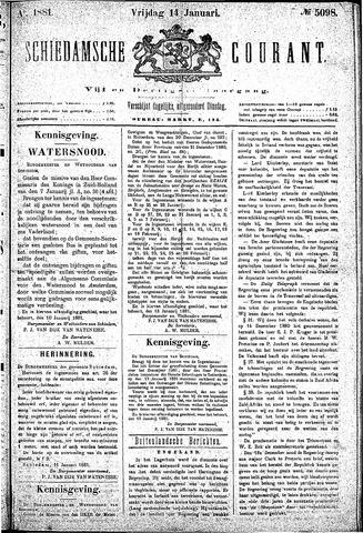Schiedamsche Courant 1881-01-14
