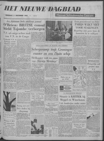 Nieuwe Schiedamsche Courant 1961-12-05