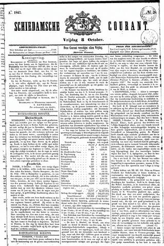Schiedamsche Courant 1847-10-08