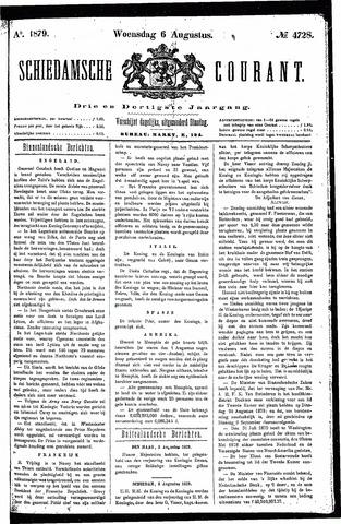 Schiedamsche Courant 1879-08-06