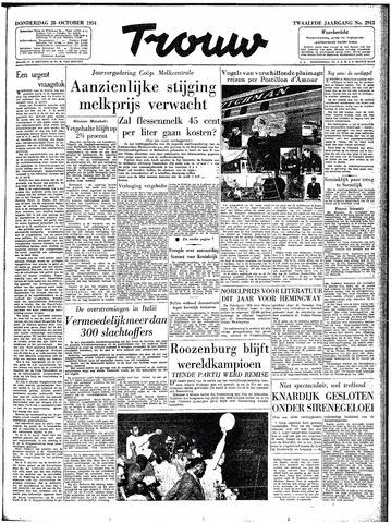 Trouw / De Rotterdammer 1954-10-28