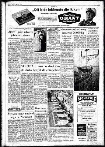 Rotterdamsch Parool / De Schiedammer 1961-08-31