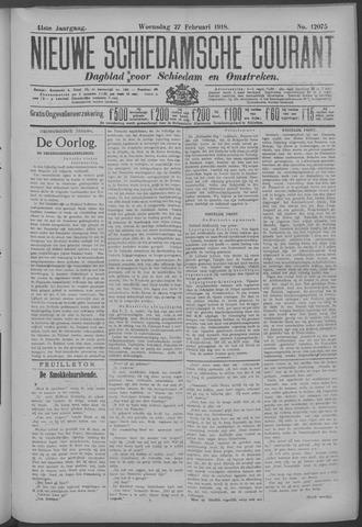 Nieuwe Schiedamsche Courant 1918-02-27