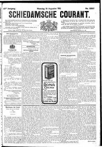 Schiedamsche Courant 1912-08-19