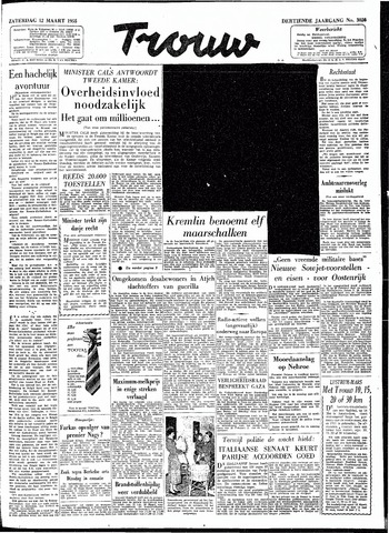 Trouw / De Rotterdammer 1955-03-12