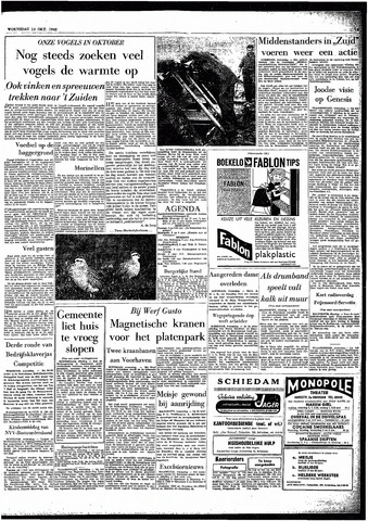 Rotterdamsch Parool / De Schiedammer 1962-10-10