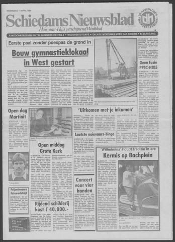 Schiedams Nieuwsblad 1984-04-11