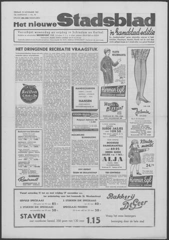 Het Nieuwe Stadsblad 1961-11-10