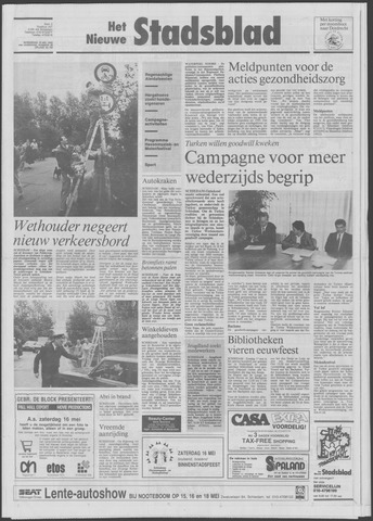 Het Nieuwe Stadsblad 1992-05-13