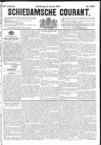 Schiedamsche Courant 1910-01-13