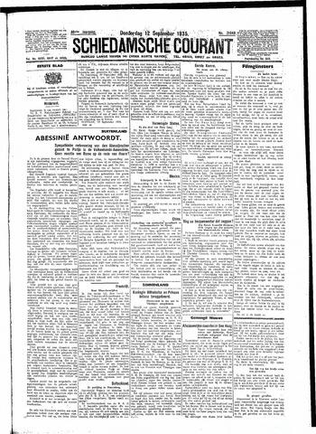 Schiedamsche Courant 1935-09-12