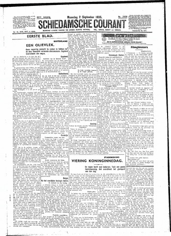 Schiedamsche Courant 1935-09-02