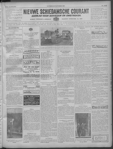 Nieuwe Schiedamsche Courant 1932-10-29