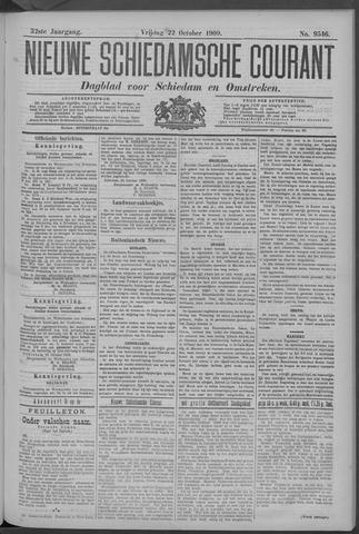 Nieuwe Schiedamsche Courant 1909-10-22