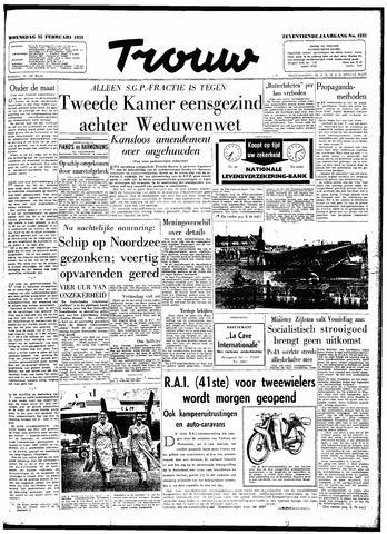 Trouw / De Rotterdammer 1959-02-25