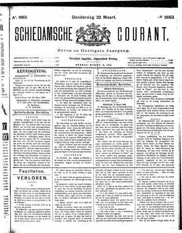 Schiedamsche Courant 1883-03-22