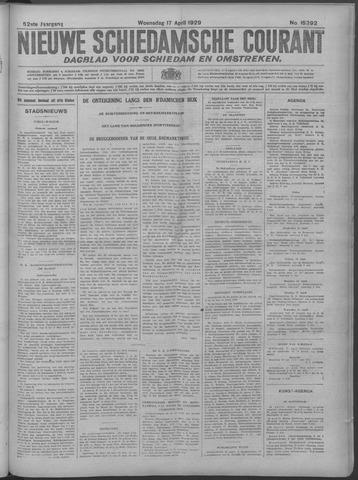 Nieuwe Schiedamsche Courant 1929-04-17