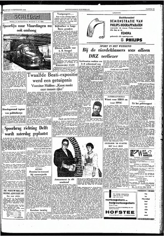 Rotterdamsch Nieuwsblad / Schiedamsche Courant / Rotterdams Dagblad / Waterweg / Algemeen Dagblad 1959-09-14