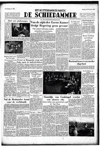 Rotterdamsch Parool / De Schiedammer 1949-12-20