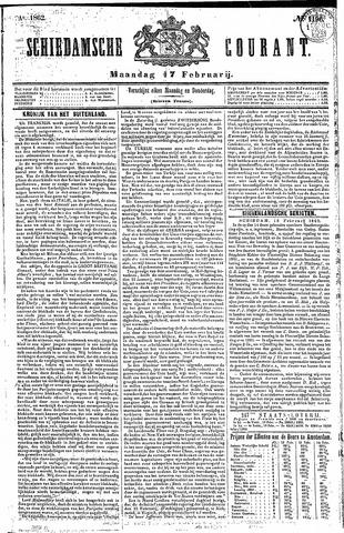 Schiedamsche Courant 1862-02-17