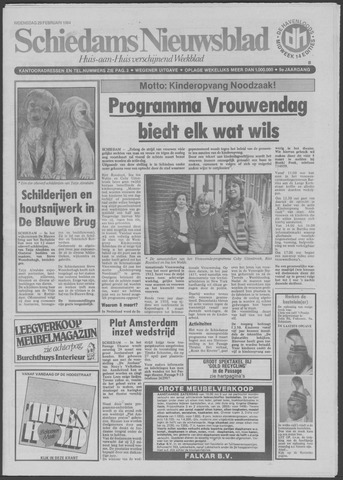 Schiedams Nieuwsblad 1984-02-29