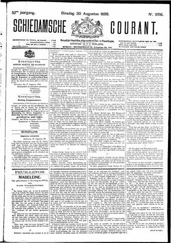Schiedamsche Courant 1898-08-30