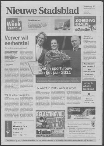 Het Nieuwe Stadsblad 2011-11-30