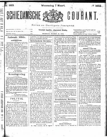 Schiedamsche Courant 1883-03-07