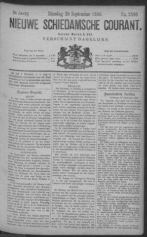 Nieuwe Schiedamsche Courant 1886-09-28