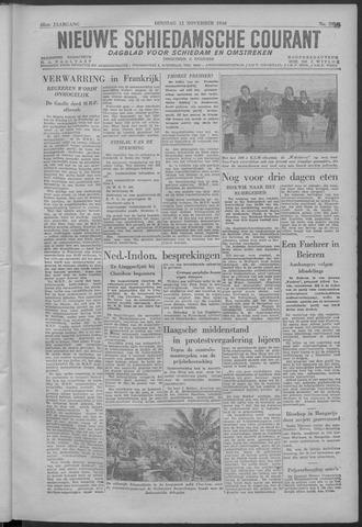 Nieuwe Schiedamsche Courant 1946-11-12