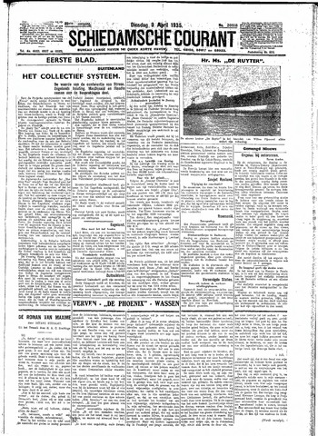 Schiedamsche Courant 1935-04-09