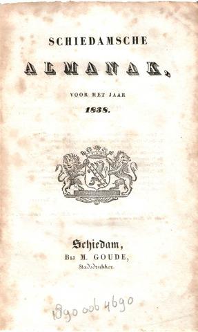 Schiedams Jaarboek 1838-01-01