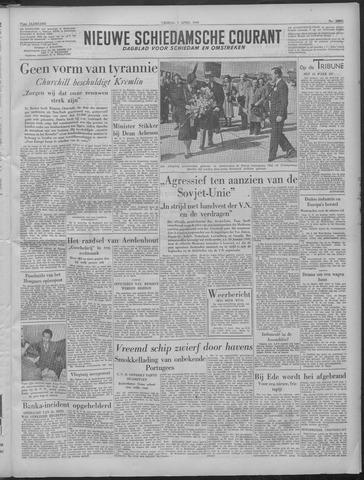 Nieuwe Schiedamsche Courant 1949-04-01