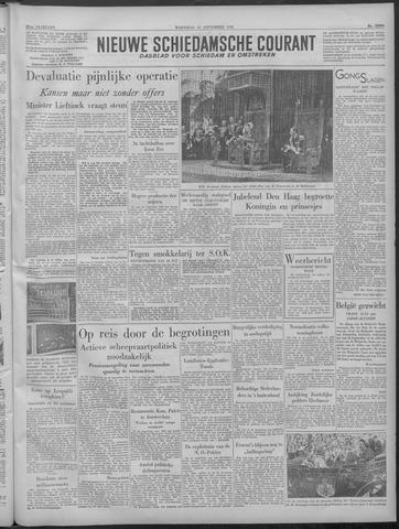 Nieuwe Schiedamsche Courant 1949-09-21