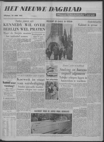 Nieuwe Schiedamsche Courant 1961-06-30