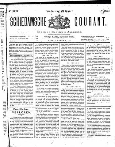 Schiedamsche Courant 1883-03-29