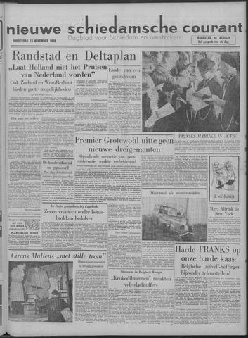 Nieuwe Schiedamsche Courant 1958-11-13